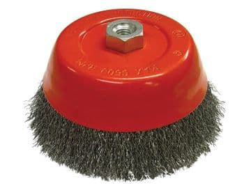 Wire Cup Brush 150mm M14x2, 0.30mm Steel Wire